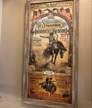 Chuck Lewis Cody, Wyoming Stampede 22x43