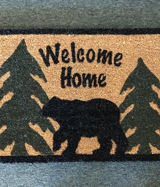 Park Design Welcome Home Black Bear Mat
