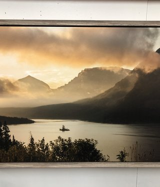 TAC Sunrise Over St Mary's Lake