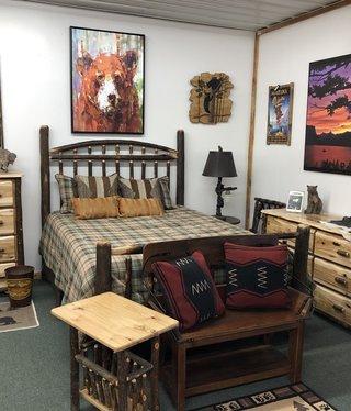 ALBC 6 Drawer Hickory Dresser   SO