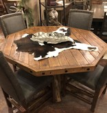 ALBC All Leather Dining Chair with Tacks