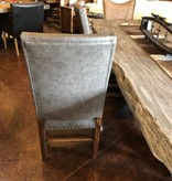 ALBC All Leather Dining Chair with Tacks - SO