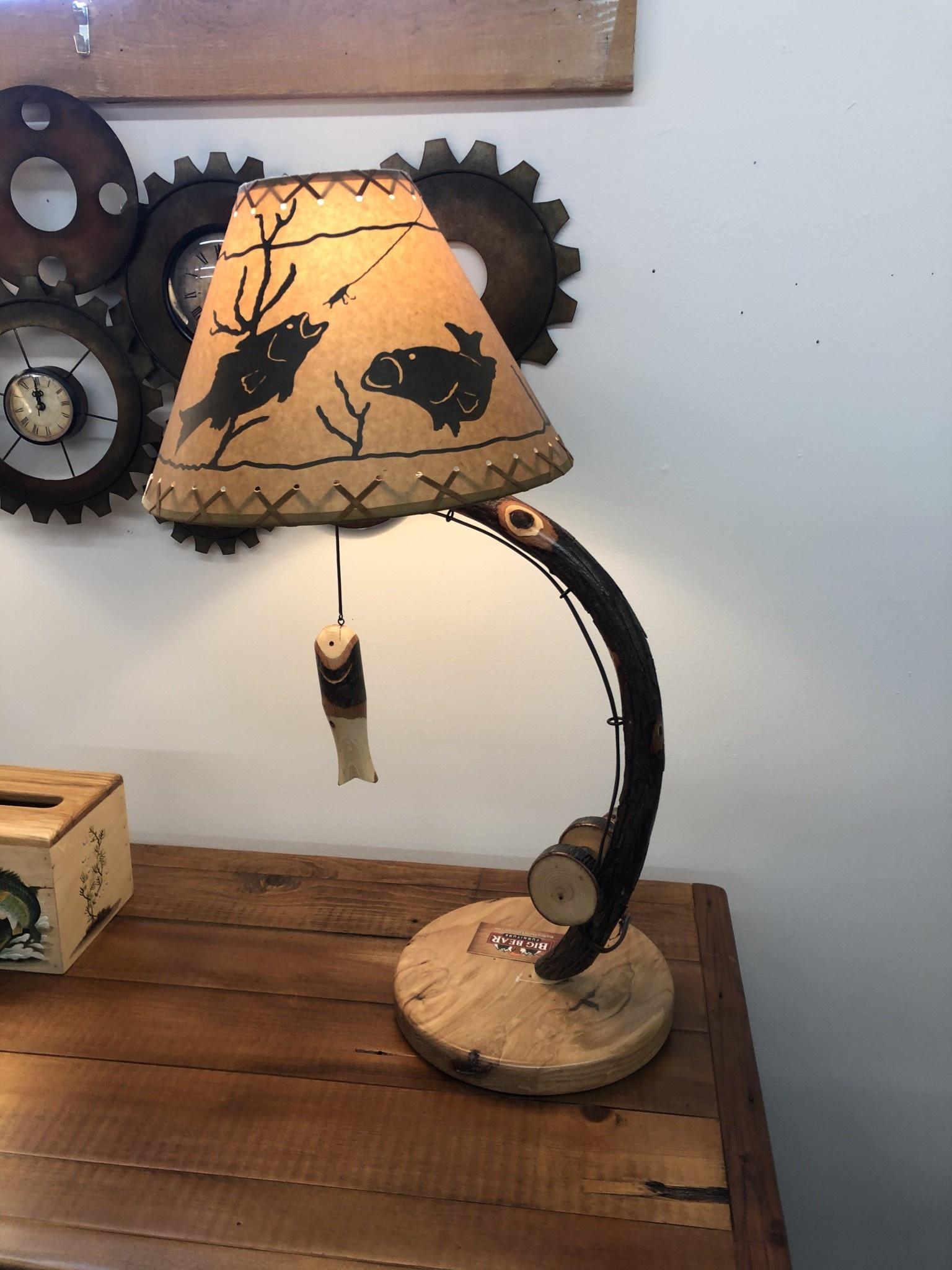 ALBC Fish Table Lamp