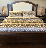 Hiend Chalet Aztec 3 pc Comforter Set- QUEEN