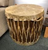 Kevan Peterson Large Drum End Table