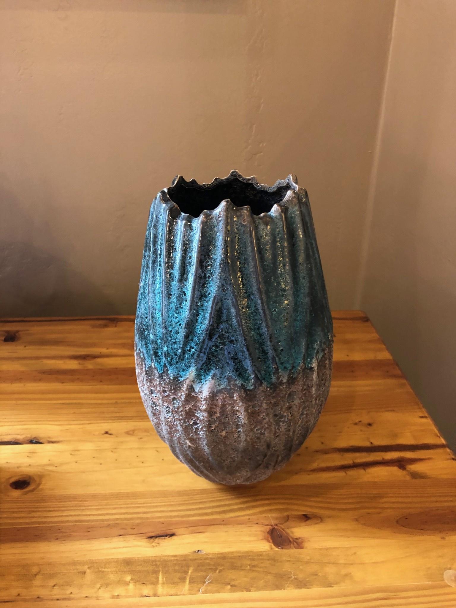 Uma Ceramic Vase 6W x 10H (47388)