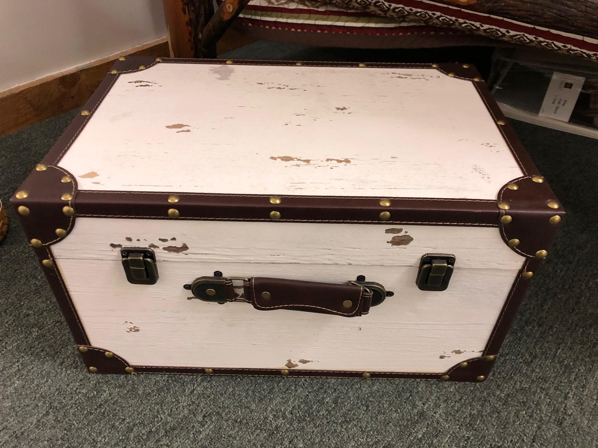 """Uma Large Wood Box 17""""W (35023)"""