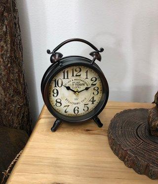 Uma Metal Table Clock  (52507)