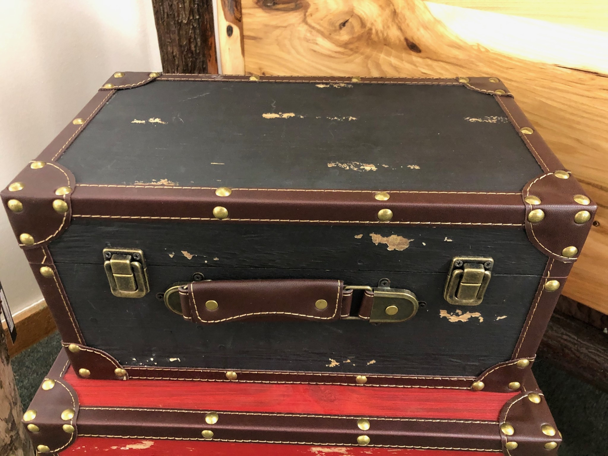 "Uma Small Wood Box 14""W (35023)"