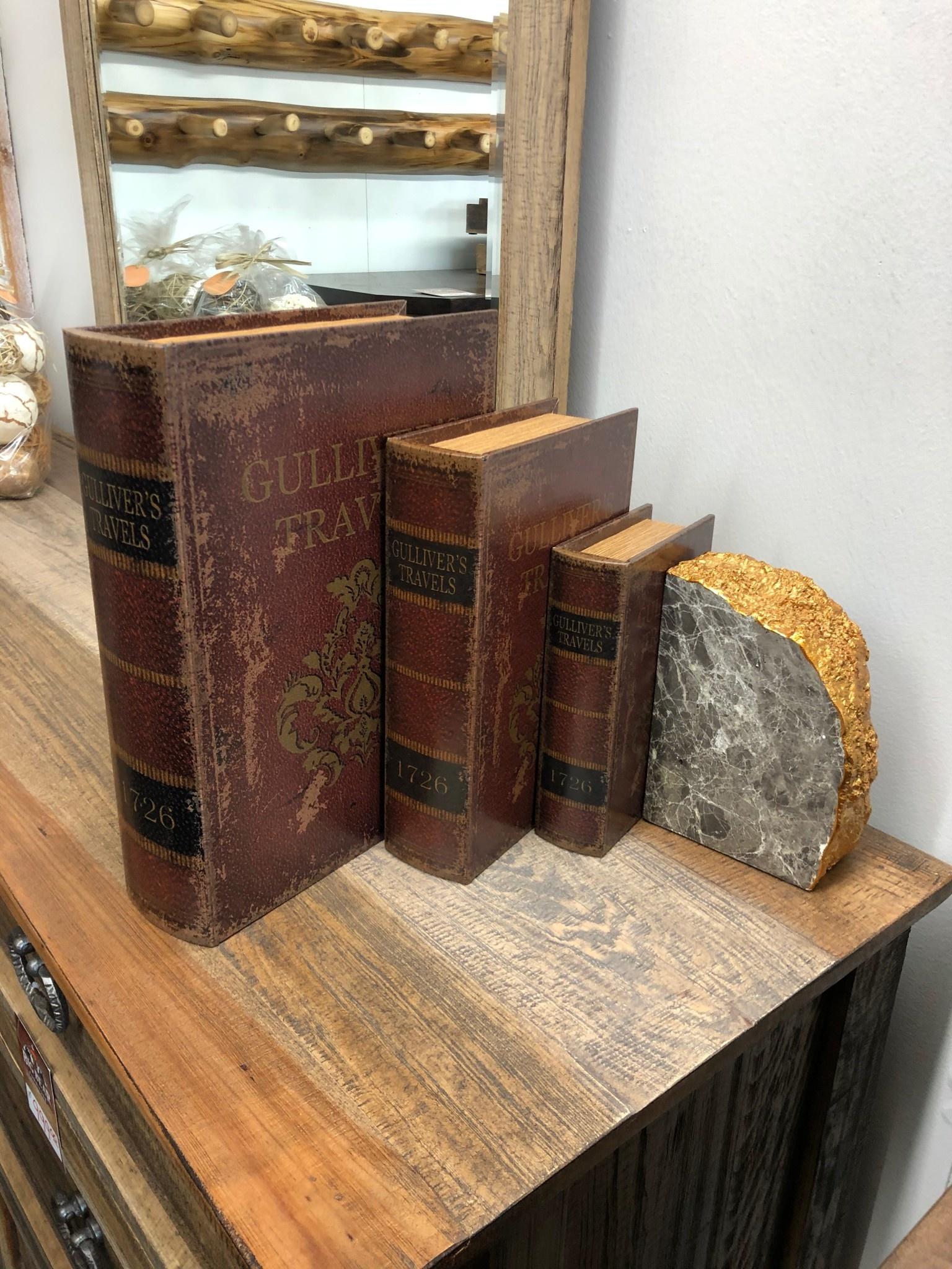 Uma WD Leather Boxes Set of 3 (Gullivers Travels)