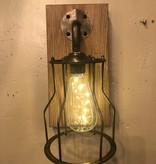 """Uma WD Metal Glass  LED Wall Sconce 11""""H (84330)"""