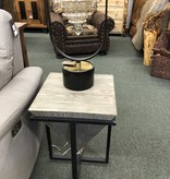 Uttermost Bertrand Accent Table 18x25x18