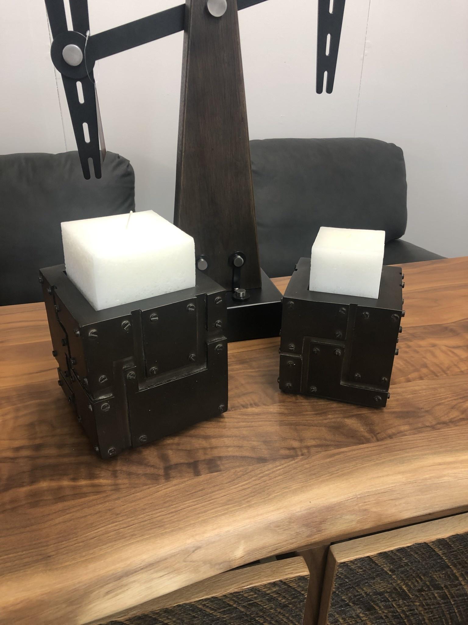 Uttermost Malak Set/2 Candleholders