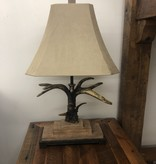 "Uttermost Stag Horn Table Lamp (Light Shade) 31""H"