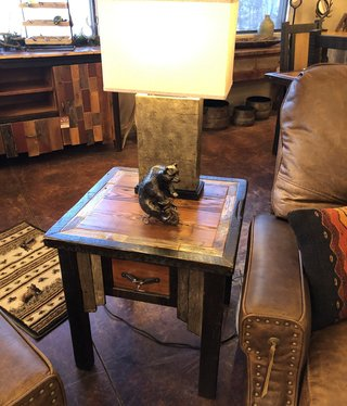 Cody Cody Side Table with 1 drawer 25Hx24Wx24D