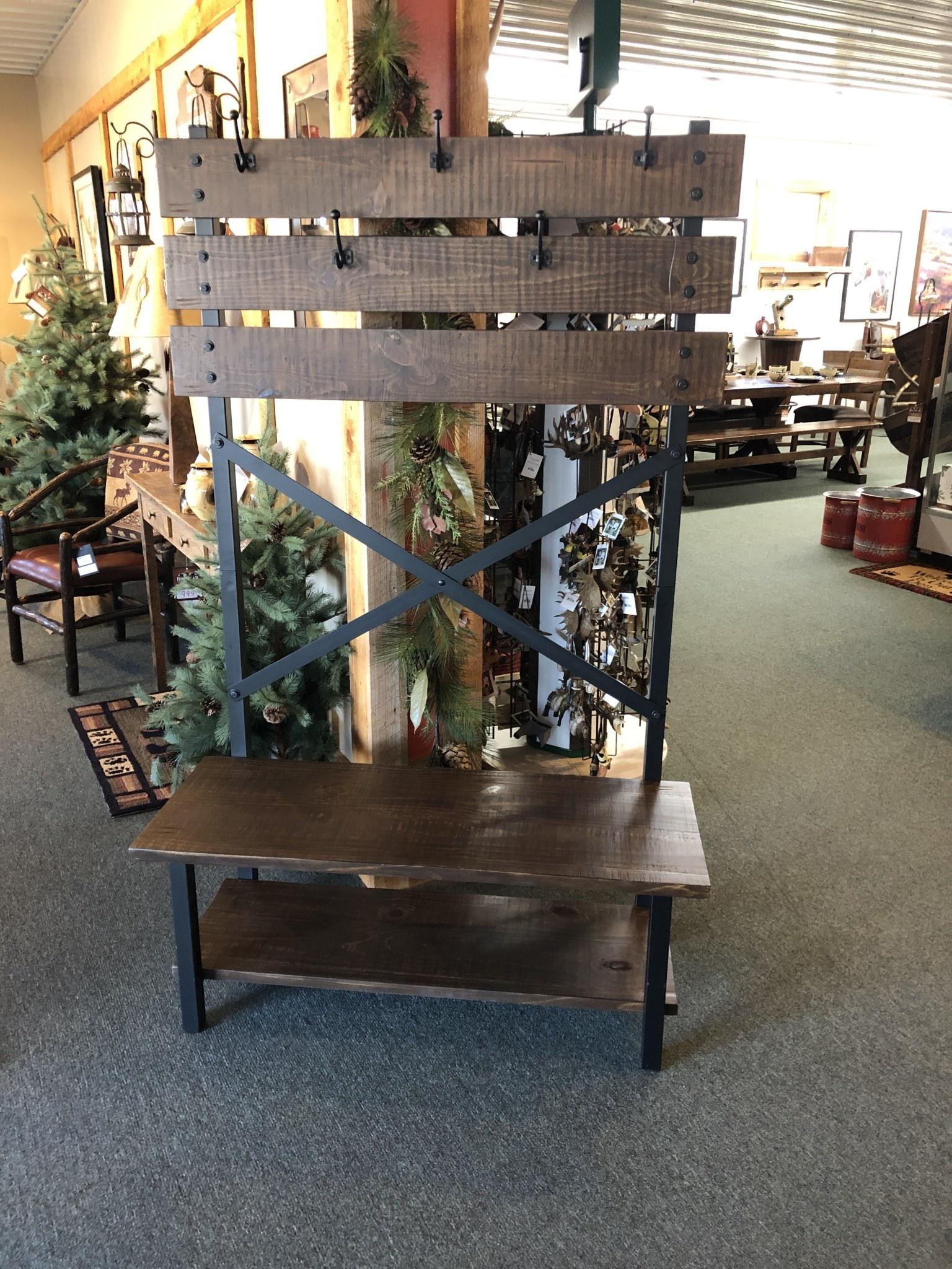 IFD 359 Pueblo Hall Tree 43.25x18x70