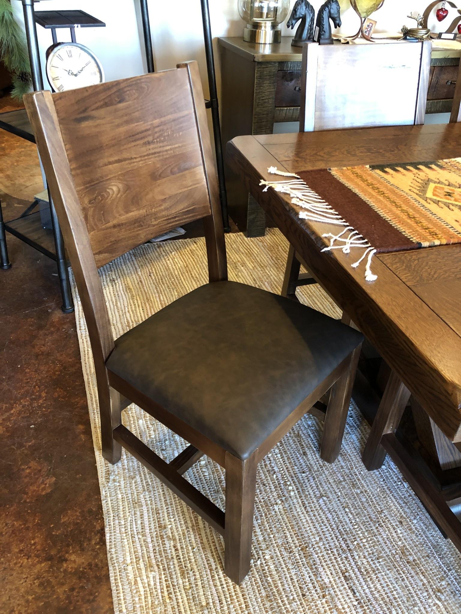 IFD 865 Parota Chair 19x27x40.5