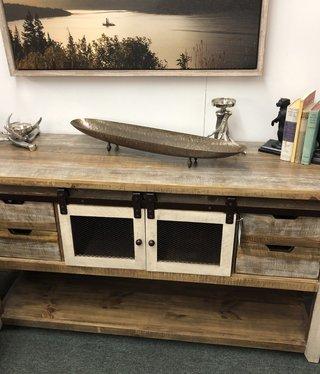 IFD 9661 Antique Multi Sofa Table 55x16.5x30
