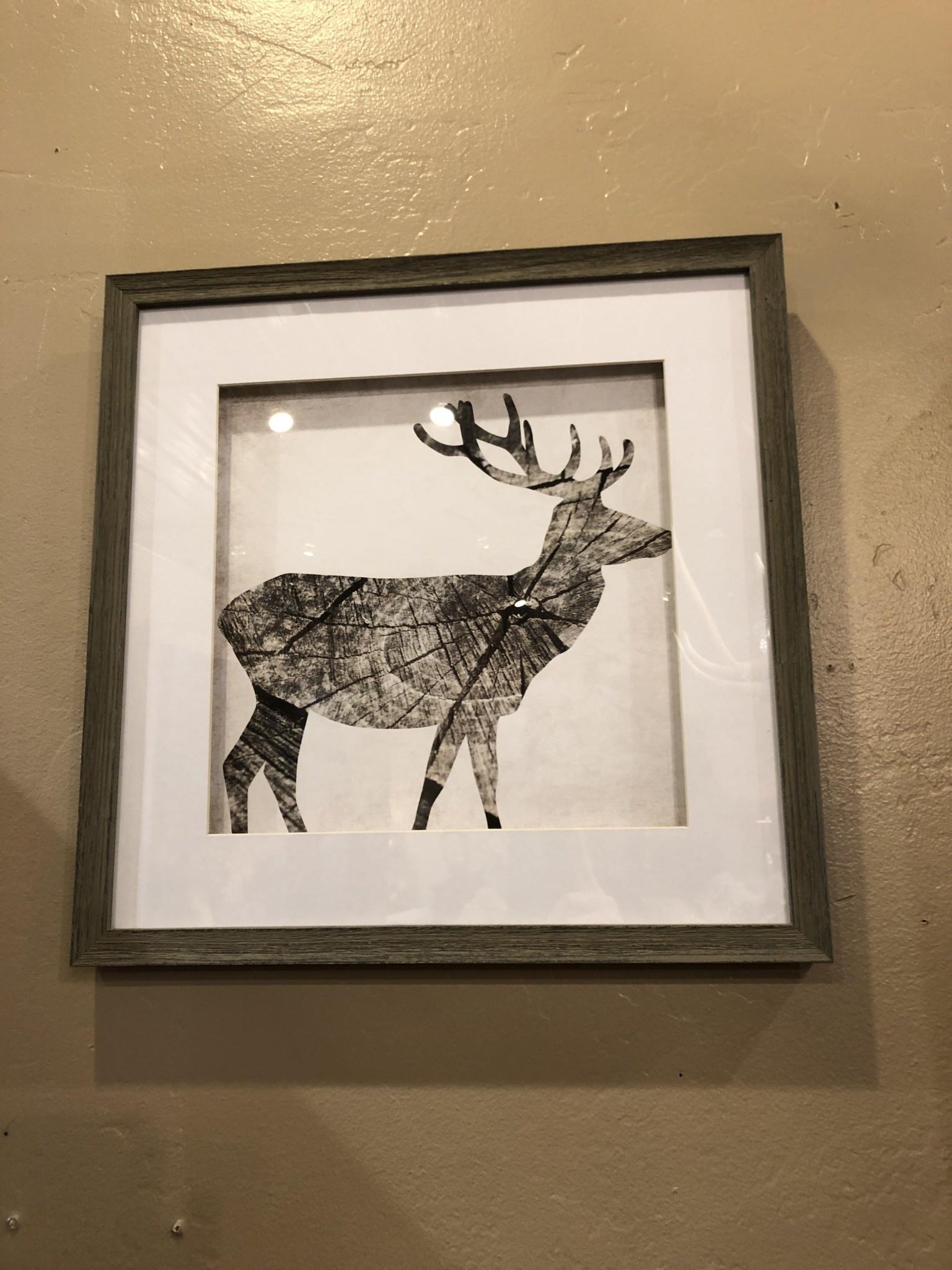 TAC Wood Deer (white)