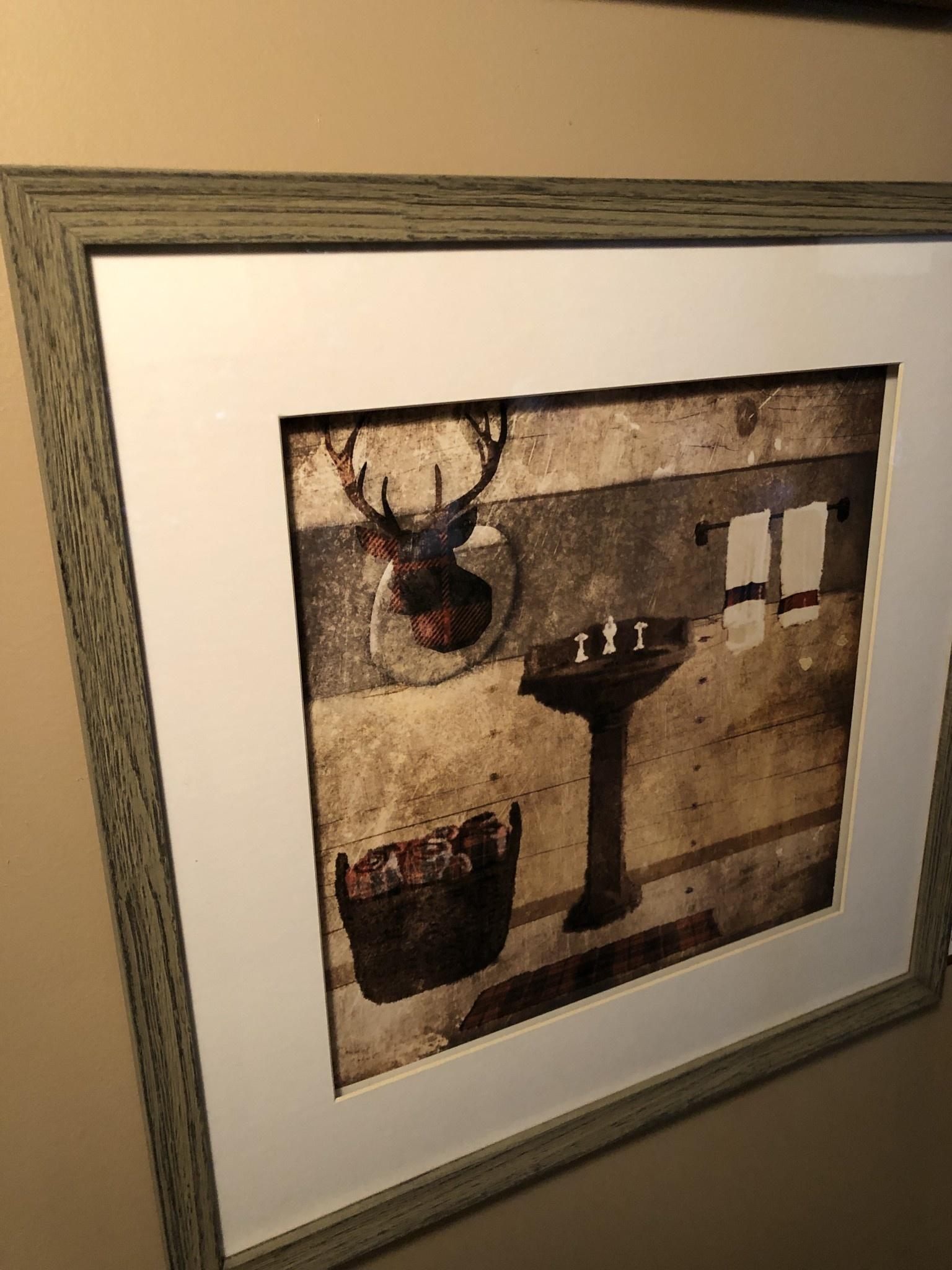 TAC Cabin Deer   (Checkered)