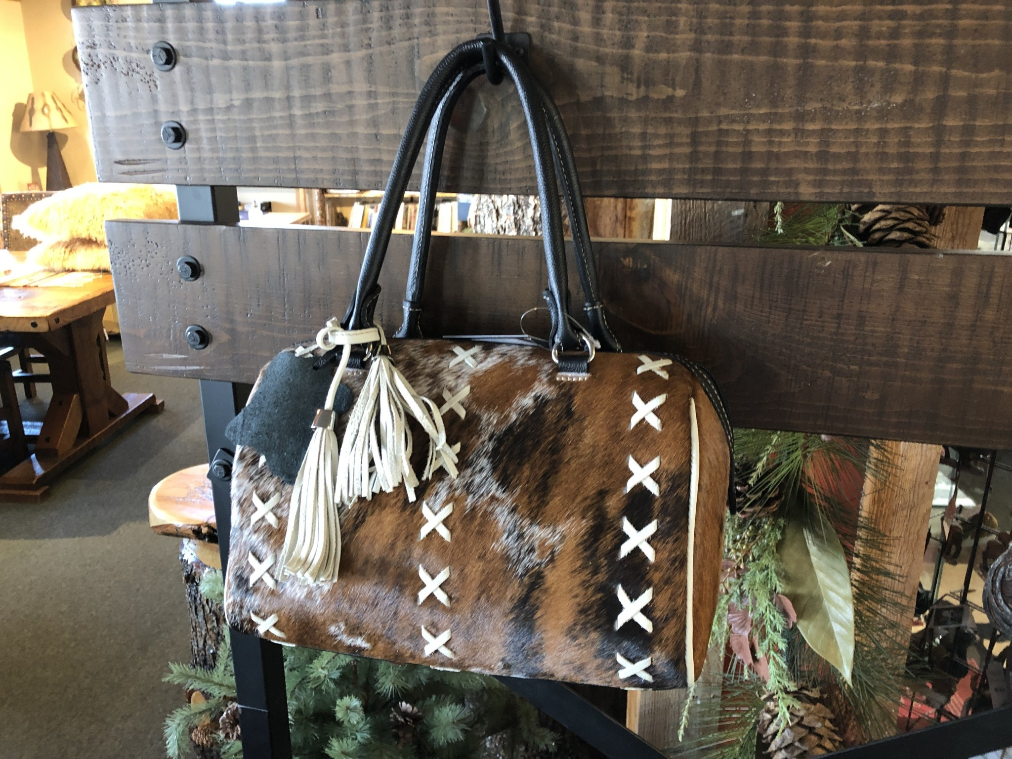 Gaucho Cowhide Purse #40