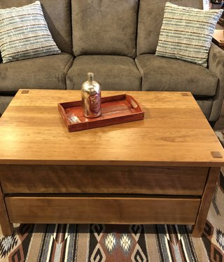 Green Gables South Lake 2 Drawer Coffee Table