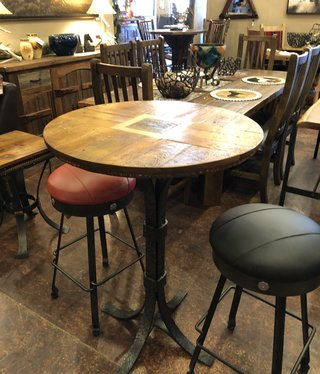 "Green Gables Prescott 30"" Round Pub Table"