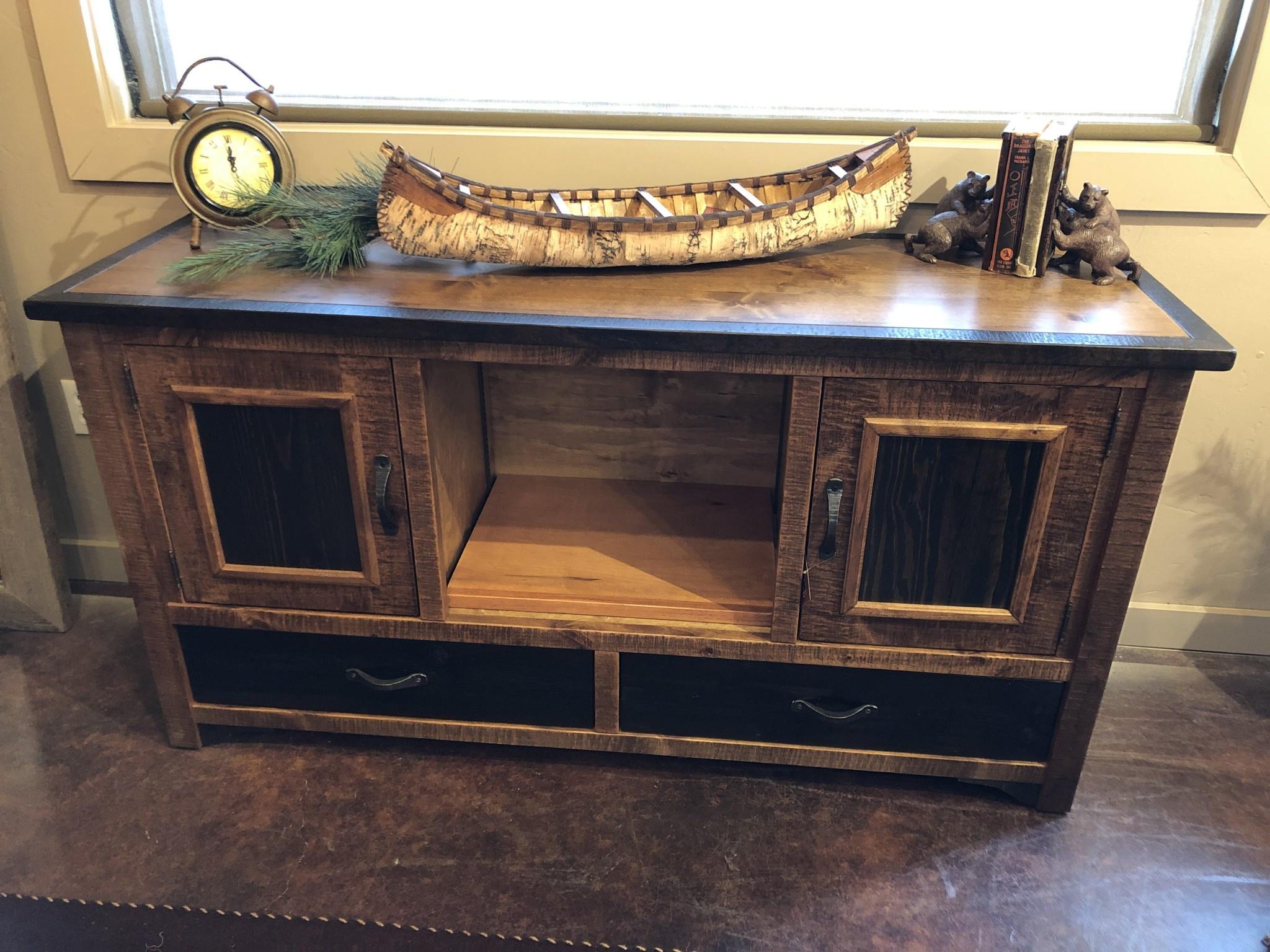 Green Gables Jamestown 2 Door 2 Drawer TV Stand