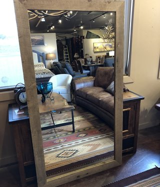 Rustic North Large  Mirror