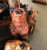 "Wood Carving Outlet 20"" Carved Sitting Bear"