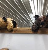 Wood Carving Outlet Carved Kilroy Bear