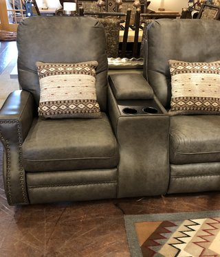 Omnia Ride  Reclining Love seat