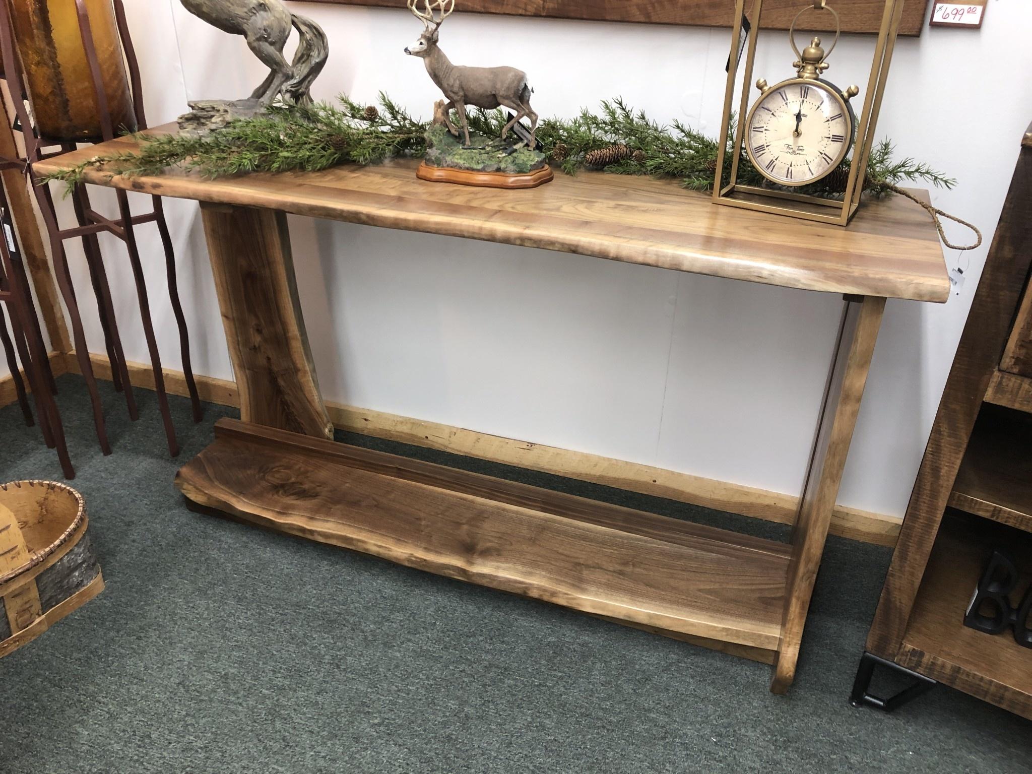 Green Gables Taos Sofa Table w/Shelf