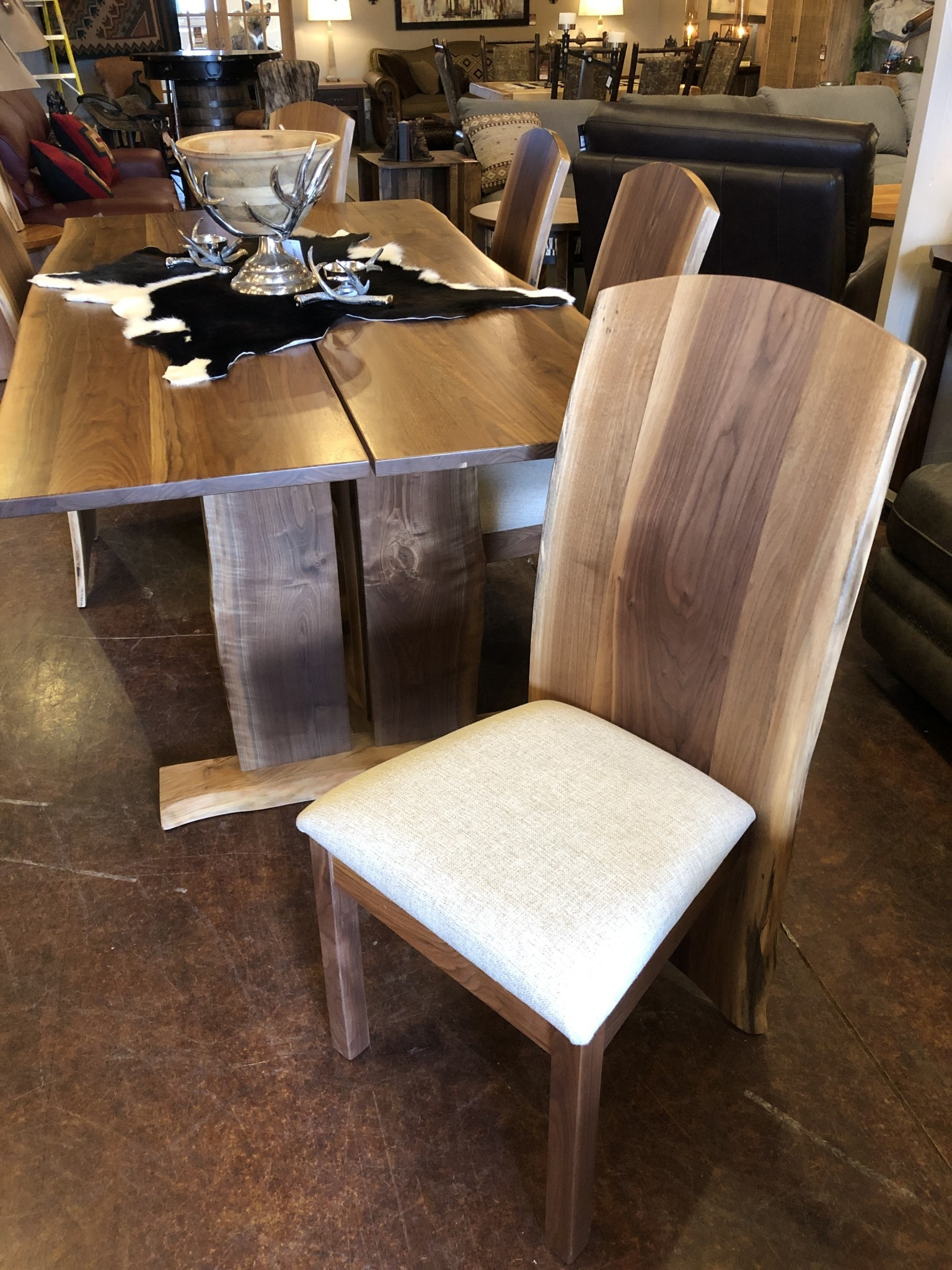 Green Gables Brook Haven Walnut Side Chair