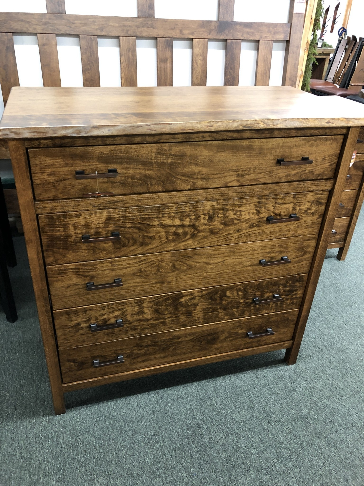 Green Gables Laurel Summit 5 Drawer Chest - Provincial
