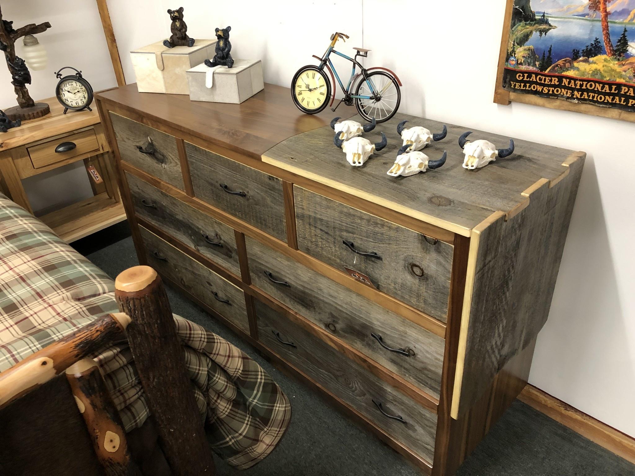 Green Gables Millennium 7 Drawer Dresser
