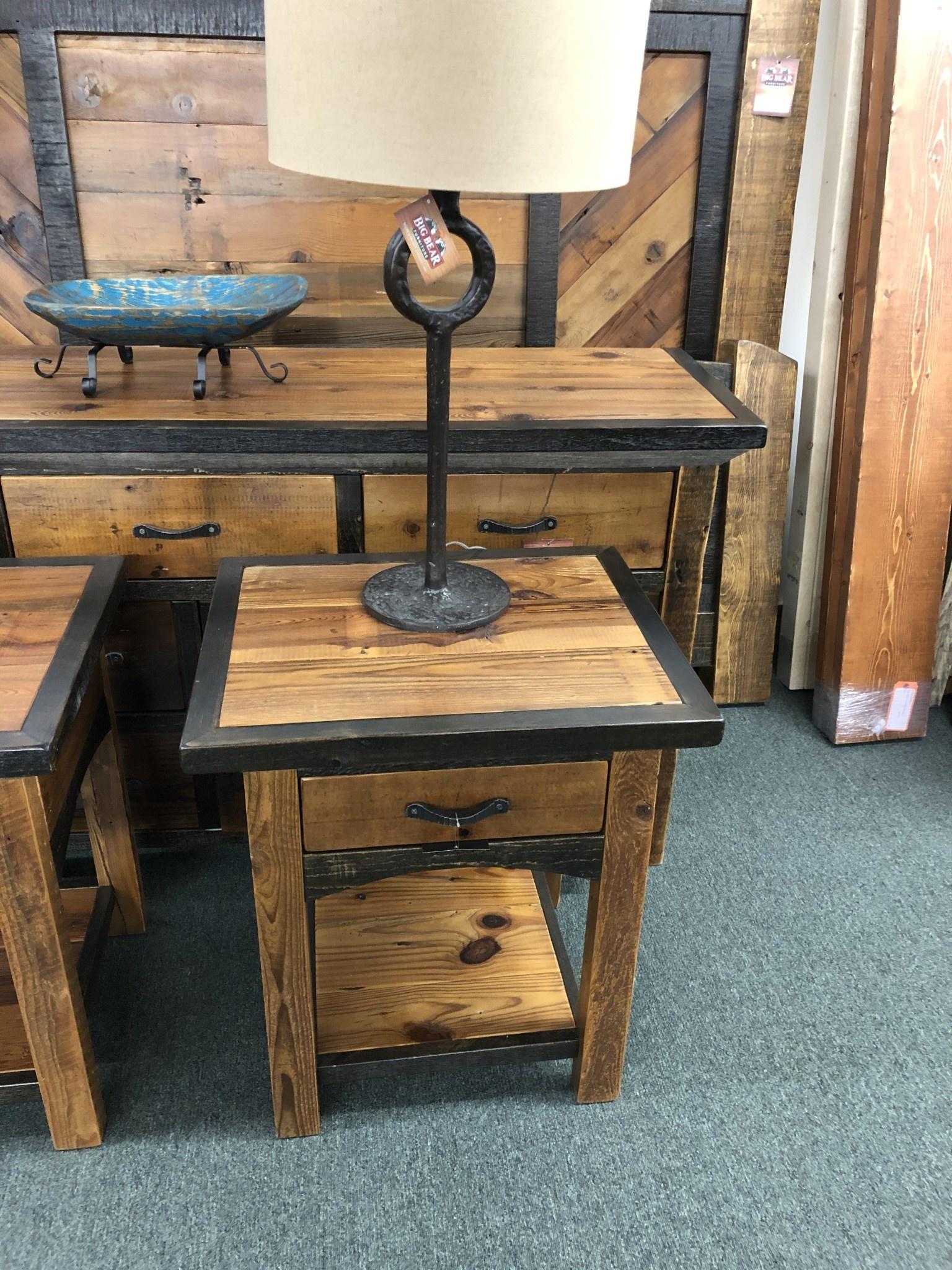 Green Gables Mossy Oak Natchez Trace 1 Dwr Nightstand w/shelf