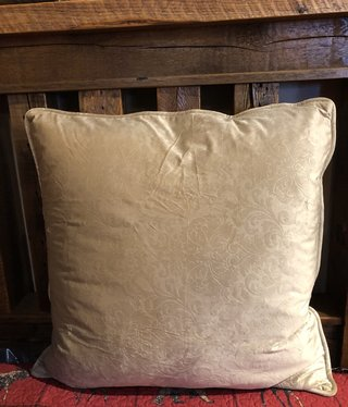 Hiend Diane Embossed Oatmeal Euro Sham Only