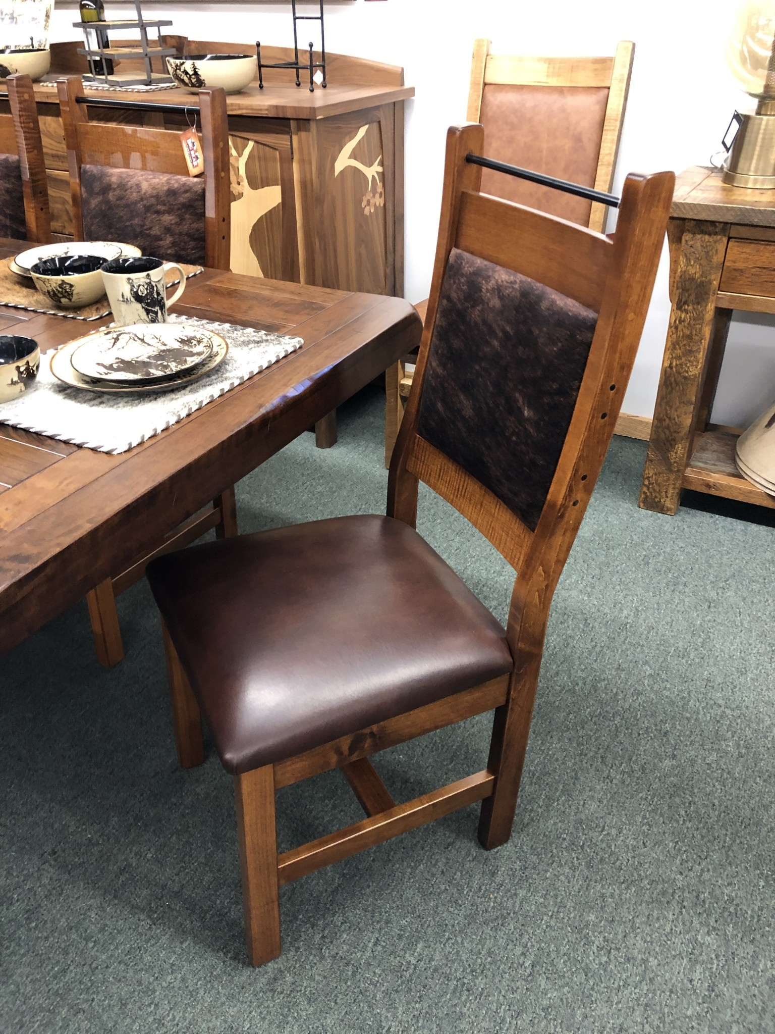 Co-ALBC Upholstered Dining Chair