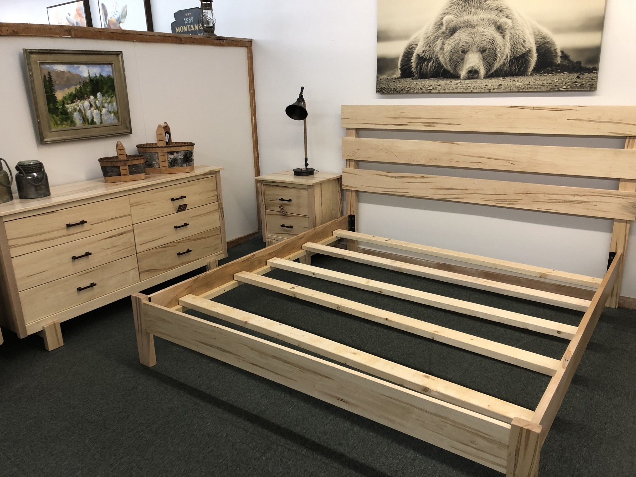 Green Gables Maple Springs Bed - KING