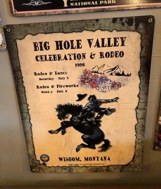 Classic Outdoor Magazines Wisdom Rodeo 12x15 Metal Sign