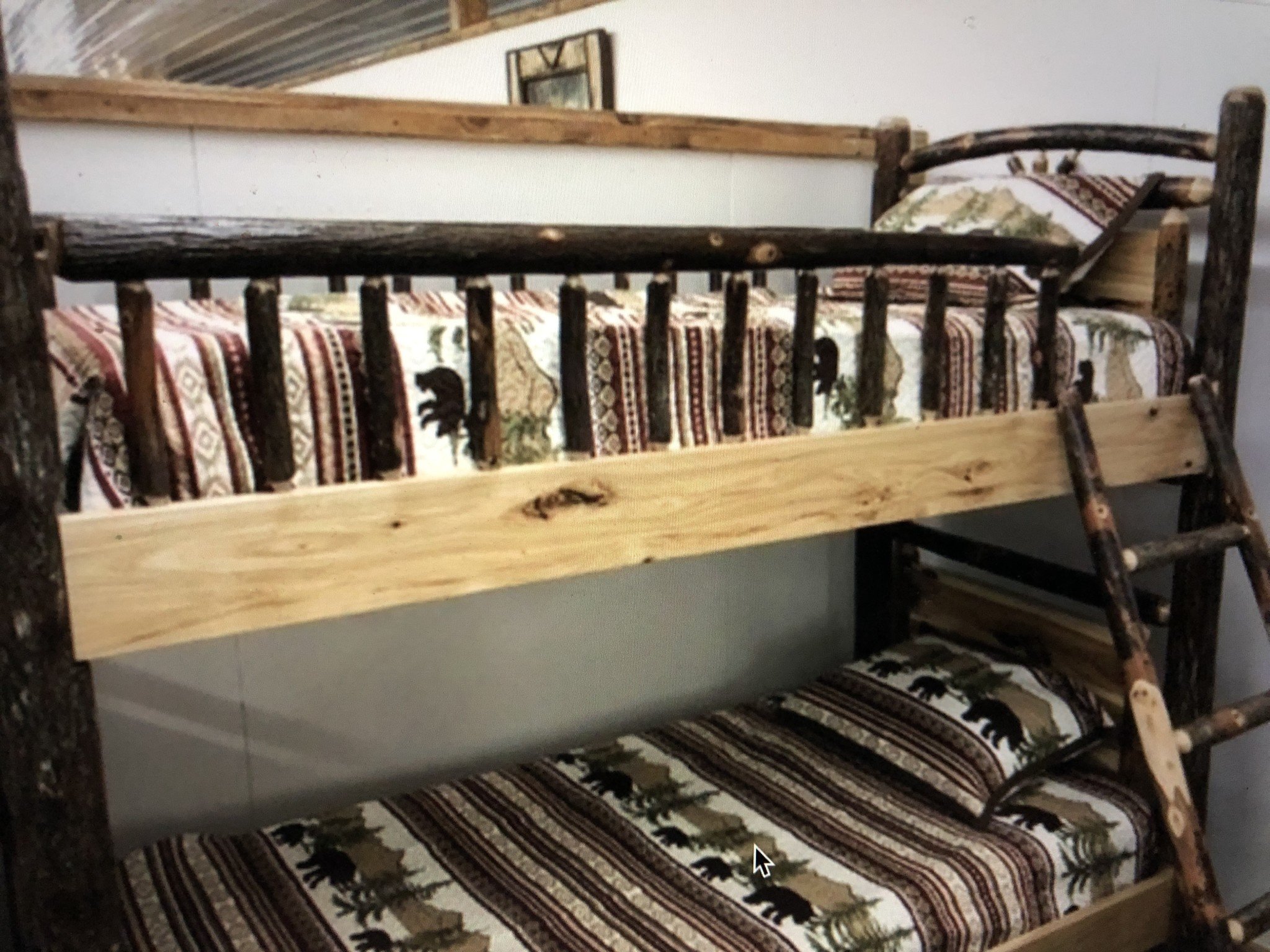 ALBC Hickory Twin/Twin Bunkbed   SO