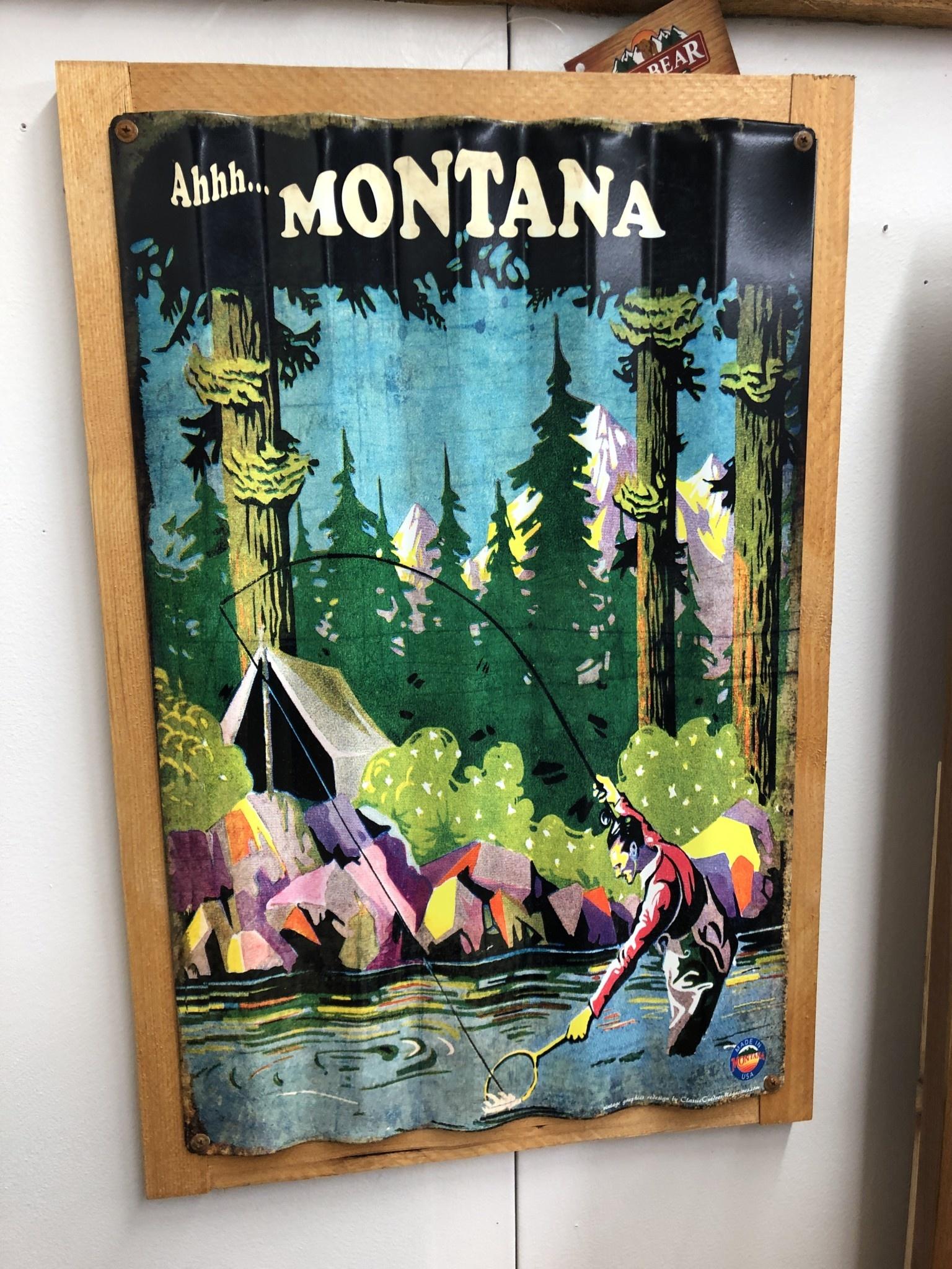 Classic Outdoor Magazines #1 Stream Angler Corrugated 17x26