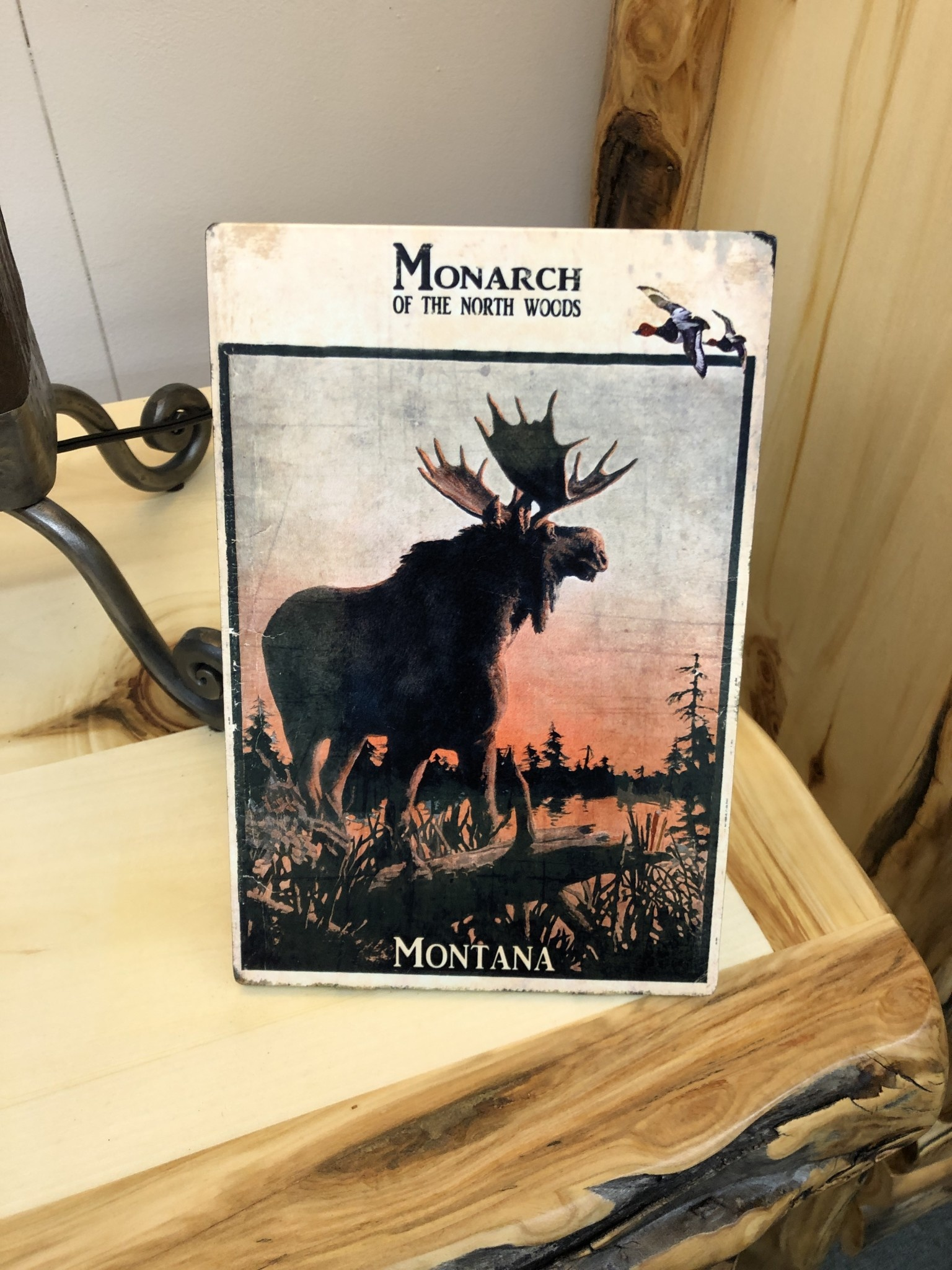 Classic Outdoor Magazines #20 Monarch Moose Table Topper
