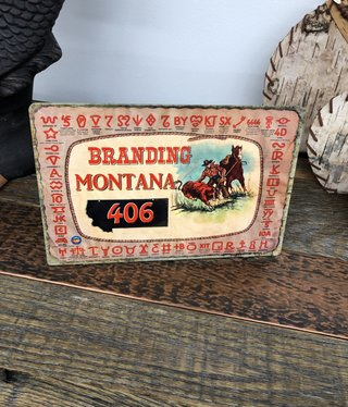 Classic Outdoor Magazines Branding Montana Table Topper