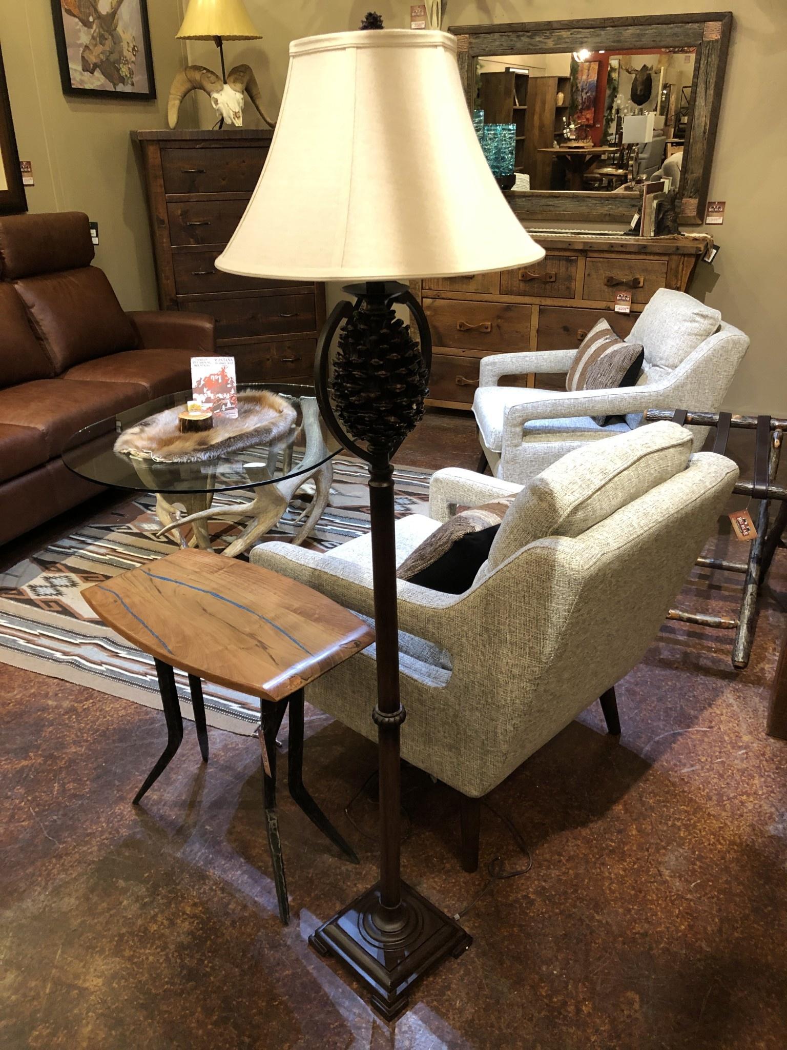 Crestview Pine Creek Floor Lamp
