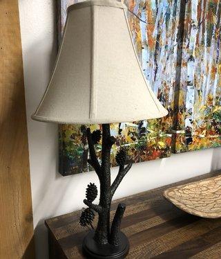 Crestview Pioneer Pinecone Table Lamp