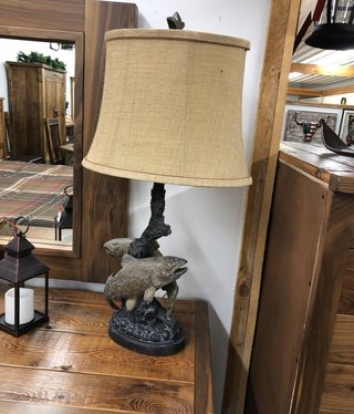 Crestview Up Stream Table Lamp (fish)
