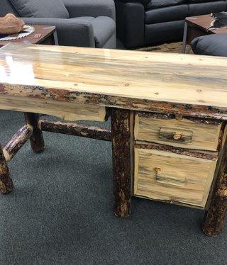 MCE Industries Pintler Range Log Desk  54Lx22Dx30H