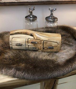 Todd Traucht Beaver Pelt - LARGE